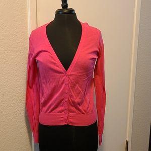 Womens hot pink sweater